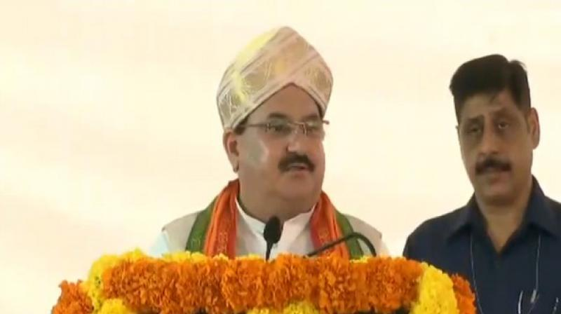 Lies being spread about Article 370 by J&K mainstream leaders: Nadda