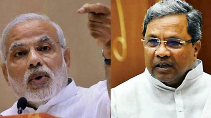 Modi hits a new low, mocks Siddaramaiah govt as 'Seedha Rupaiah sarkar'