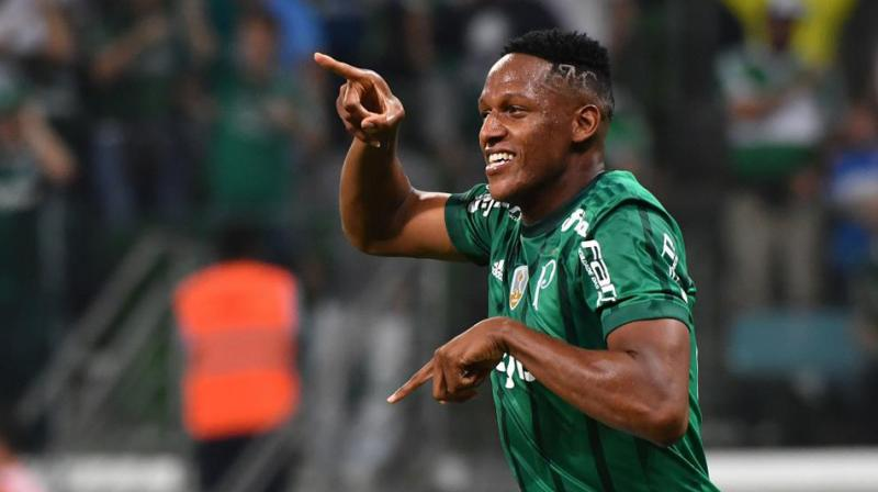 Yerry Mina joins Barcelona — OFFICIAL