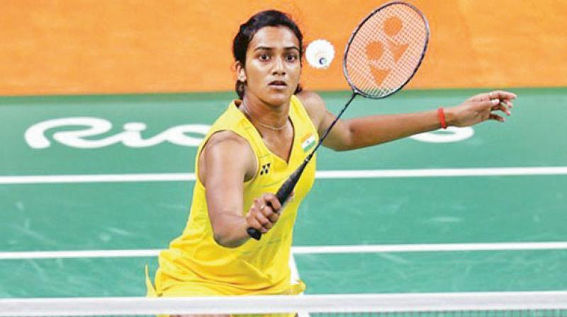 India's PV Sindhu assured herself of a fifth medal at the BWF World Championships after reaching the semifinals with a come-from-behind 12-21 23-21 21-19 win over Asian Games gold medallist Tai Tzu Ying of Chinse Taipei.