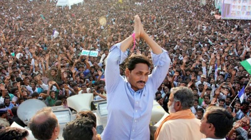 According to sources, the party meeting would take place on May 25, while Jagan's swearing-in is likely to happen on May 30. (Photo: YSR Congress website)