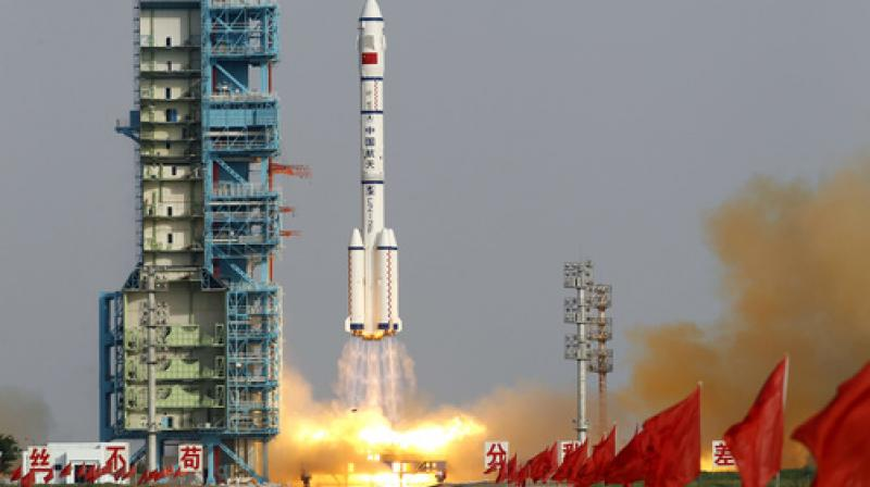 China came late to crewed space flight, launching its first man into space in 2003. (Photo: AP)