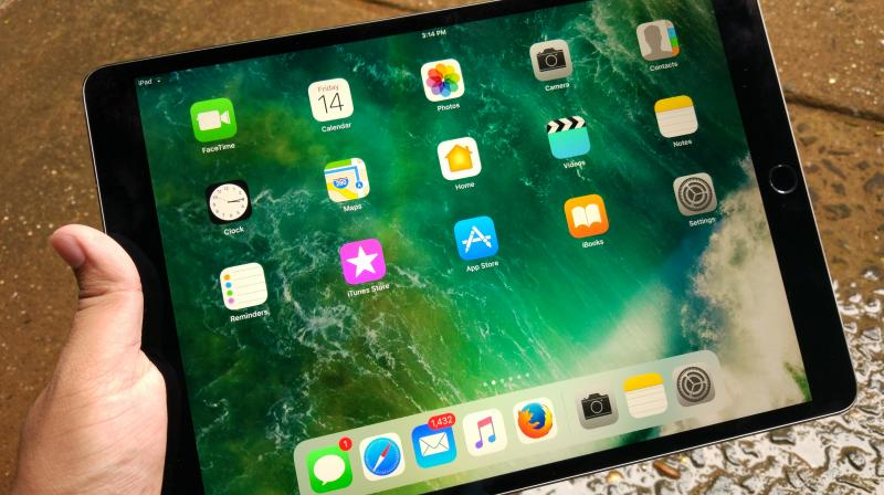 It is highly doubtful that the iPhone X's OLED display could make it to the iPad lineup. (Representative Image: iPad Pro 10.5-inch)