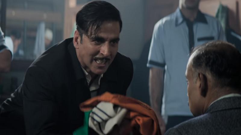 Akshay Kumar in a still from 'Gold.'