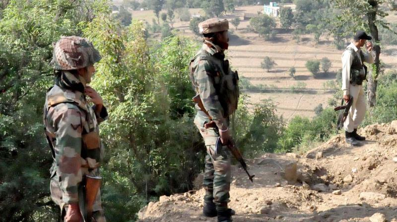 The skirmish took place around noon in a dense forest near Mahla village in Kanker district when a joint team of BSF's 114th battalion and the District Force was out on a search operation, police said.