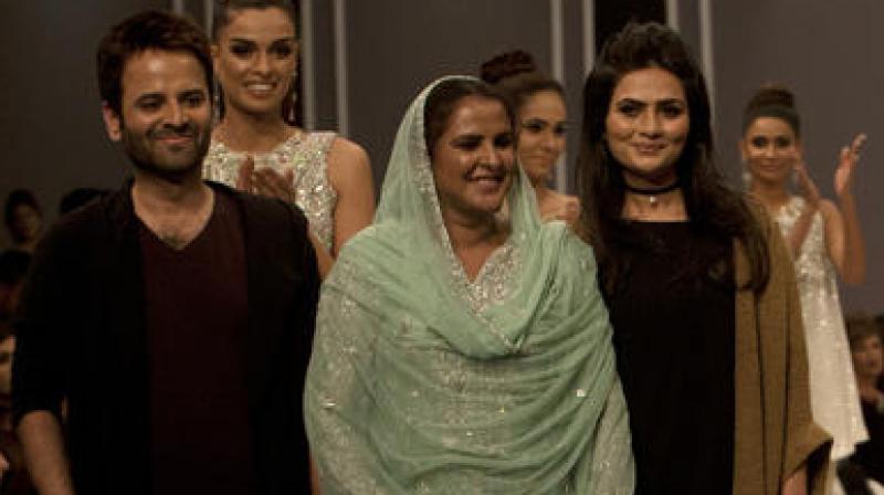 Pakistani Gangrape Victim Walks The Fashion Runway