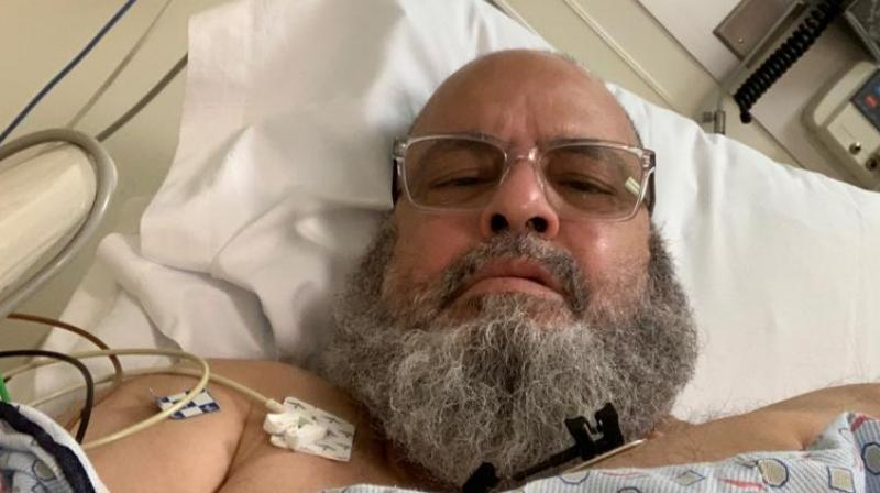 After arriving in Chicago, the 63-year-old Chacha Bashir straight went to hospital for his health check up.
