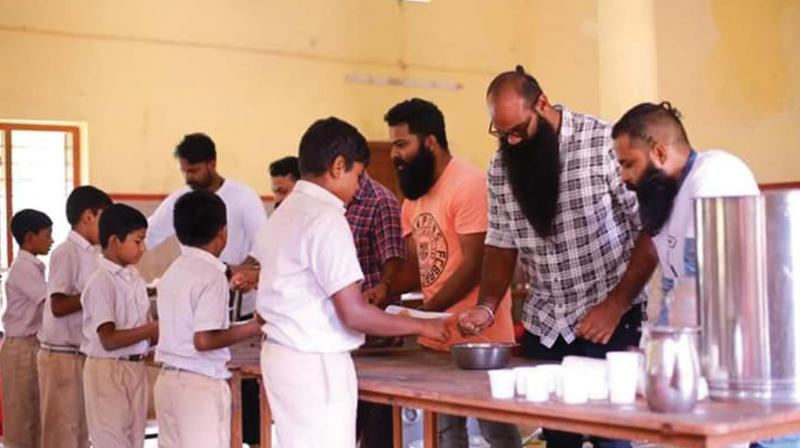 Along with their goals, youngsters are also trying on the new trends. This year 'nadan thadi' is back; it is simple as well as easy to maintain. There are also cool beardos who go for colouring their beards.
