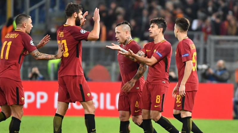Roma will play its first home match against Atalanta BC on August 28 at the Stadio Olimpico in Rome. The Serie A side expressed solidarity and also urged its fans to donate for the cause. (Photo: AFP)