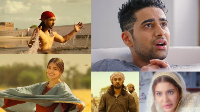 Screengrabs from the film.