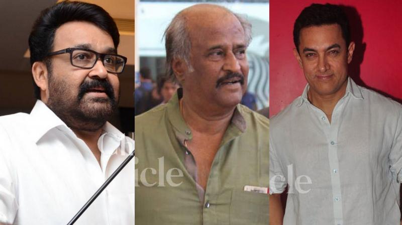 SS Rajamouli to cast Rajinikanth, Mohanlal and Aamir Khan in