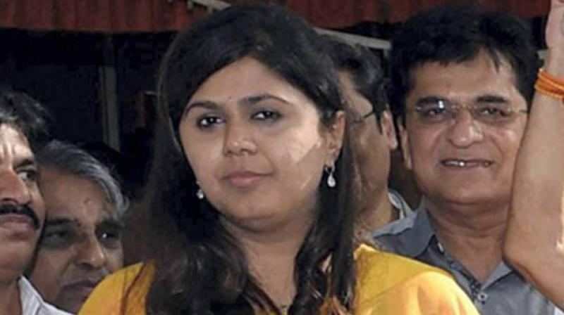 Former minister and BJP leader Pankaja Munde has removed the party's name from her Twitter bio. (Photo: File)