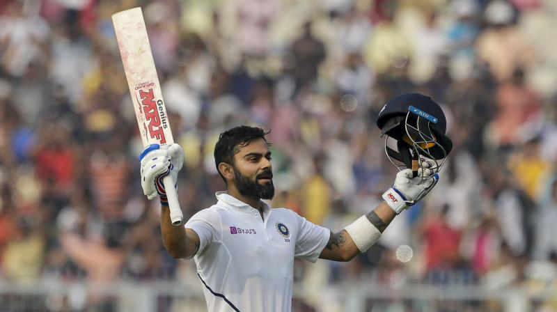 Former India bowler RP Singh on Saturday said that captain Virat Kohli made a big impact in the Men in Blue's first-ever day-night Test match against Bangladesh. (Photo: AP)