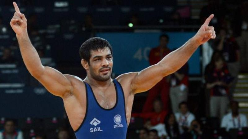 """""""I am currently in my best shape mentally and physically and have started enjoying wrestling on competitive level,"""" Sushil, who will be representing Railways in the upcoming championship, said. (Photo: PTI)"""