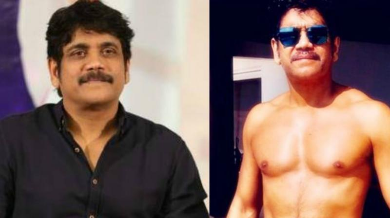 Nagarjuna's picture has been going viral on social media.