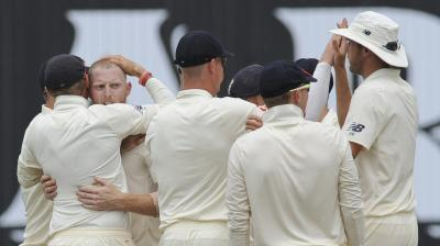 India were bowled out for 329 in the first innings. (Photo: AP)