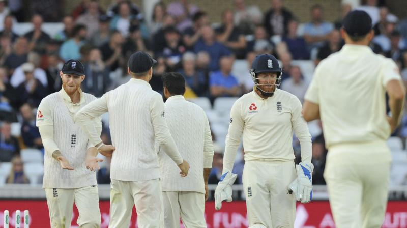 England were bowled out for 189 in the second innings. (Photo: AP)