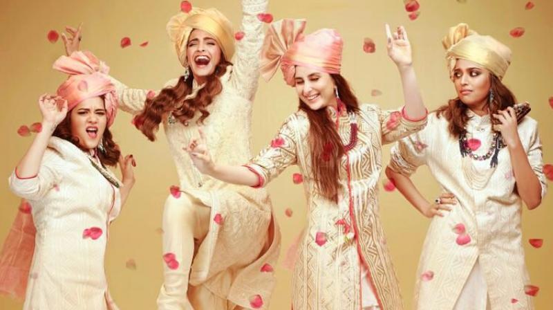 'Veere Di Wedding' poster.