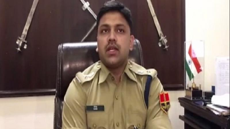 Superintendent of Police (SP) Alwar, Anil Paris Deshmukh said The incident took place on July 16 when Harish who was travelling in his bike which hit a woman after which the relatives her relatives and others on the spot allegedly beat him up. (Photo: ANI)
