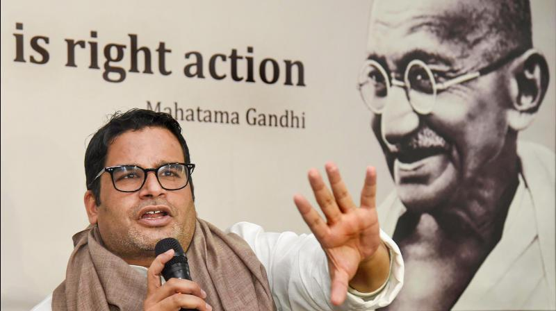 Prashant Kishor asks Nitish Kumar: 'Which side are you on -- Godse or Gandhi?'