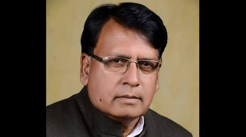 """PC Sharma's """"Washington"""" jibe was aimed at former Madhya Pradesh Chief Minister Shivraj Singh Chouhan who, in 2017, had said that roads in the state are better than those in Washington. (Photo: File)"""