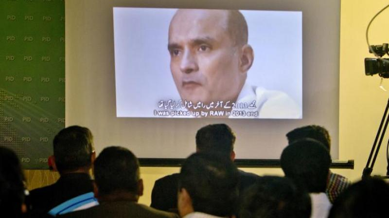 Former Indian naval officer Kulbhushan Jadhav (Photo: File)