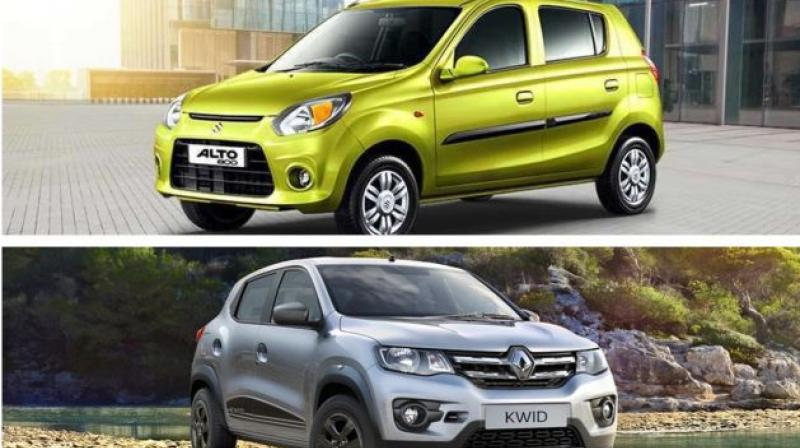 Only other competition is the Renault Kwid and Datsun redi-Go.