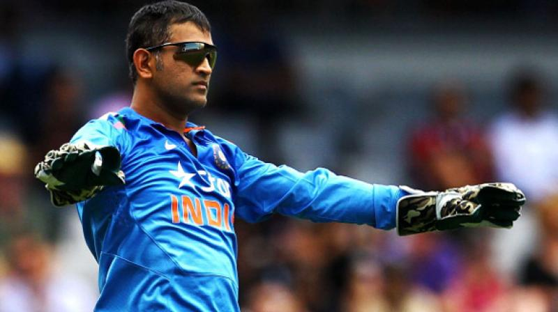 Image result for dhoni captain