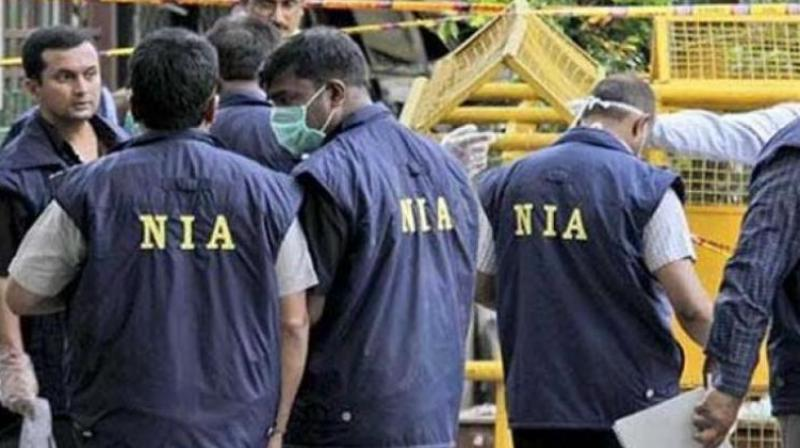 NIA conducted search operations for ISIS at Hyderabad