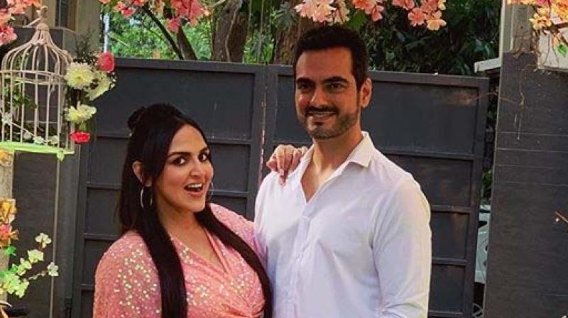 Esha Deol and husband Bharat Takhtani