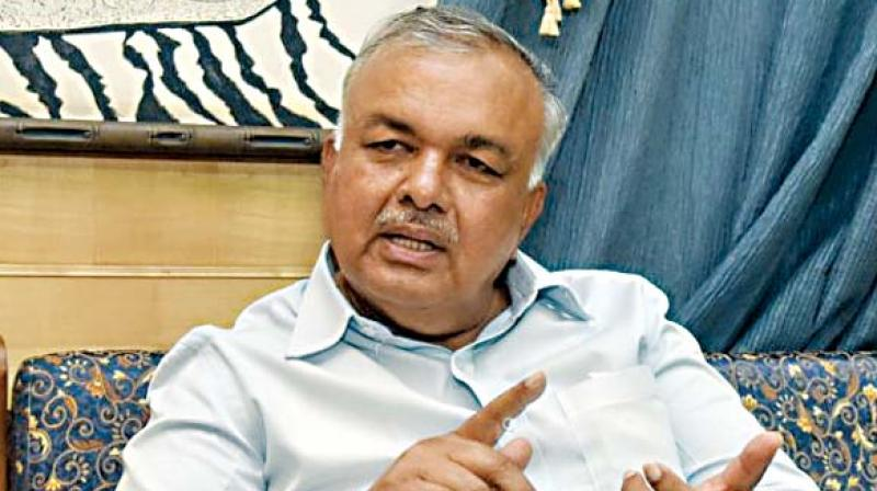 The eighth man could be Ramalinga Reddy, who has stayed on in Bengaluru even as his daughter Sowmya Reddy, Jayanagar MLA, has expressed her unease at the treatment meted out to her father..