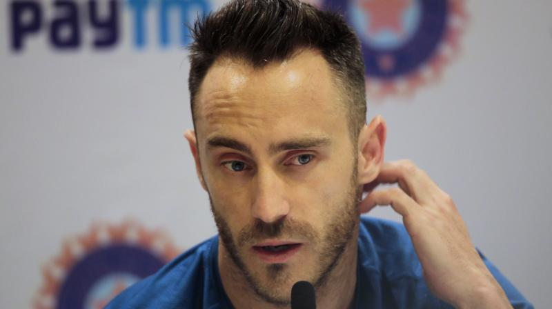"""I believe Faf is not in full training at the moment. He is recovering from a slight side strain. And he also has a small fracture in his one of his fingers,"" said CSK's batting coach Michael Hussey. (Photo: AP)"