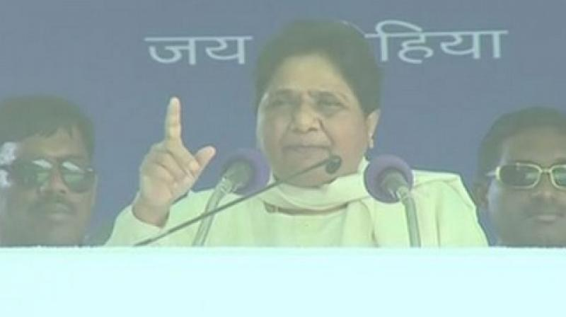 The former Uttar Pradesh chief minister appealed to the people to vote for the SP-BSP-RLD alliance so that it can form the government at the Centre. (Photo: ANI)