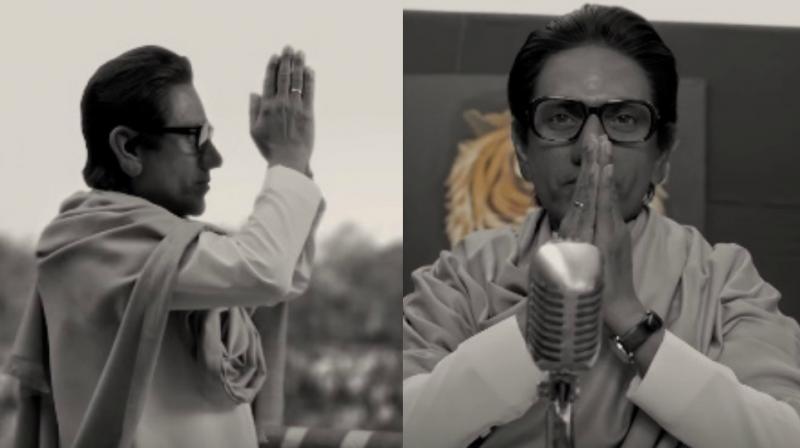 Nawazuddin Siddiqui as Balasaheb Thackeray in 'Thackeray.'