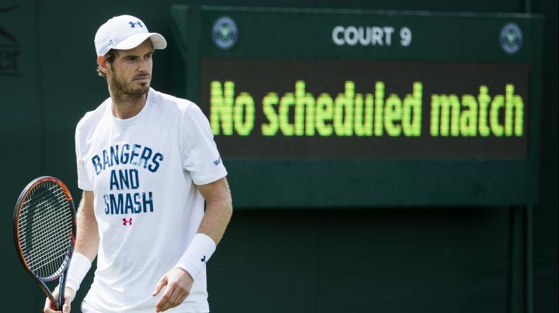 Andy Murray has been sidelined since July when he was beaten by Sam Querrey in the Wimbledon quarter-finals. (Photo: AFP)