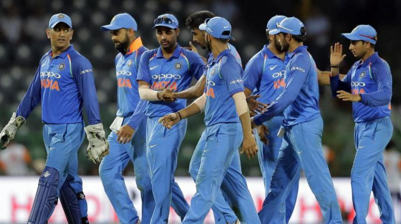 In 2017 Virat Kohli and co registered 37 wins across formats  without losing a bilateral series. (Photo:PTI)