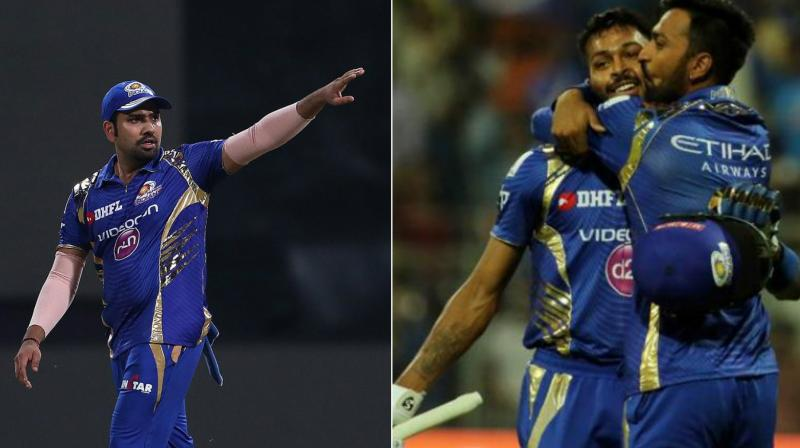 Rohit Sharma, Hardik and Krunal Pandya have been consistent performers for the Mumbai Indians side. (Photo: BCCI)