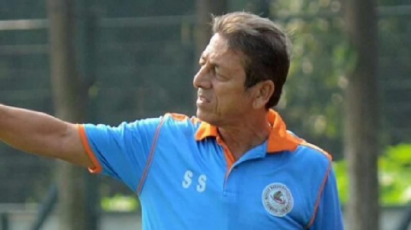 Sen was appointed the chief coach for the Mariners in December 2014 after the club parted ways with technical director Subhas Bhowmick and was instrumental in their I-League triumph in the 2014-15. (Photo: Instagram / Mohun Bagan)