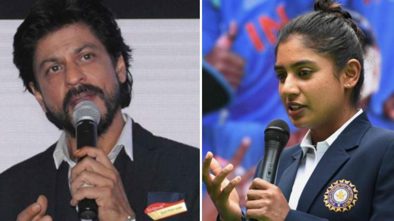 Shah Rukh Khan had backed India women's team captain Mithali Raj to coach Indian men's team in near future. (Photo:PTI)