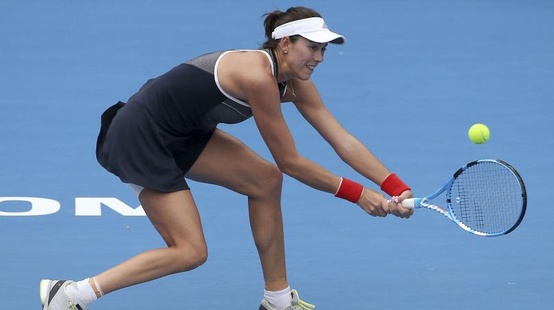 Muguruza out of Sydney International with thigh injury