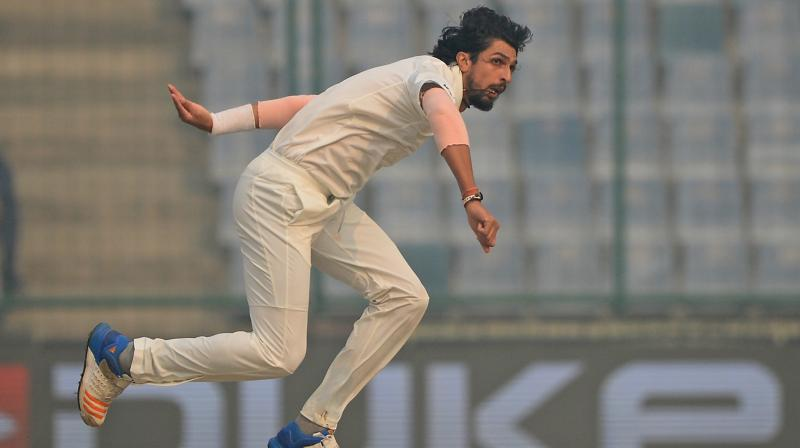 Raju Kulkarni feels that Ishant Sharma has not led the Indian bowling attack led from the front   . (Photo: AFP)
