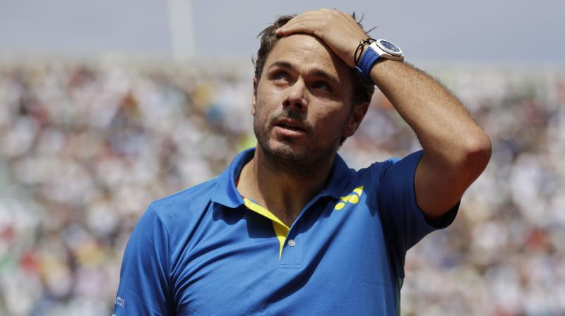 Stan Wawrinka admitted it had been a race against time, but said he was confident enough to take the court next week against first-round opponent Ricardas Berankis. (Photo: AP)