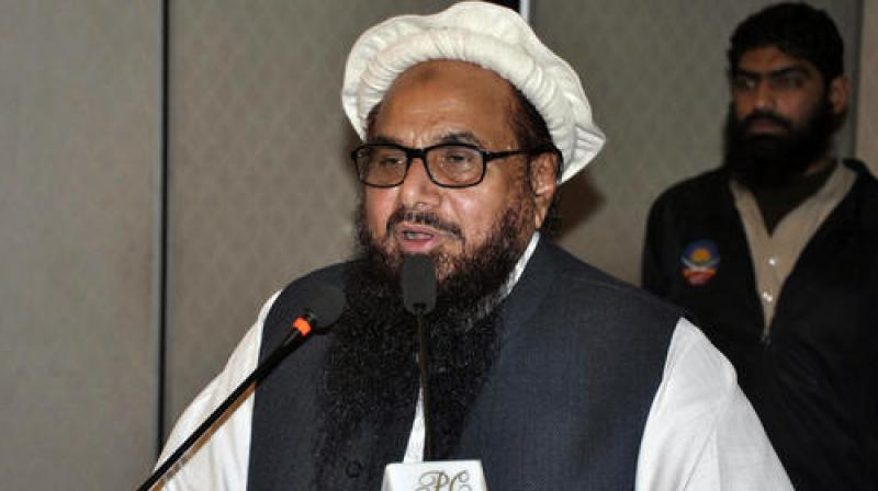 Hafiz Saeed is also looking to contest the 2018 general elections in Pakistan and has, thereby, formed a party by the name of Milli Muslim League (MML). (Photo: AP)