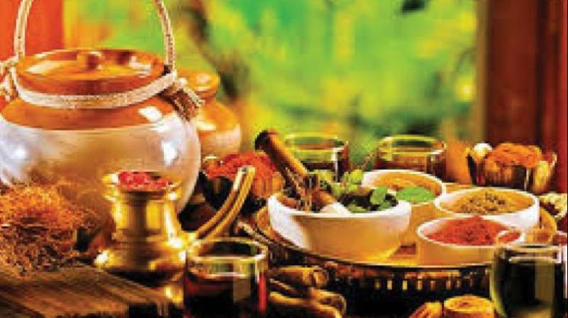An exhibition showcasing advanced medical technologies for the manufacture of ayurvedic medicines will also be held along with it for three days till February 16.