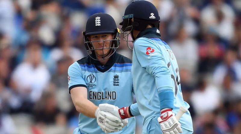The home team is coming off a massive win over Afghanistan at Old Trafford, where skipper Eoin Morgan belted a record 17 sixes. (Photo: AFP)