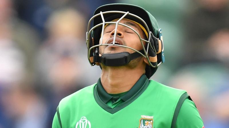 Mushfiqur Rahim said the 'last two weeks were the most difficult' in his 15-year career, referring to players' protest followed by Shakib Al Hasan's two-year suspension by the ICC for breaching anti-corruption code. (Photo: AFP)