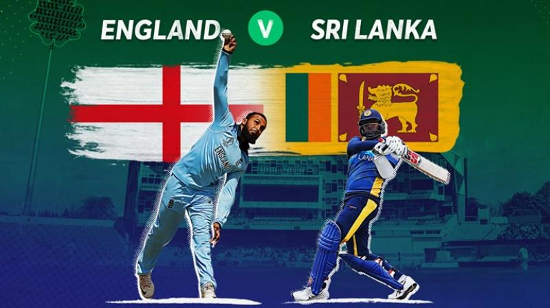 Angelo Mathews held the Sri Lanka innings together with a defiant, unbeaten 85 from 115 balls. (Photo: Cricket World Cup/Twitter)