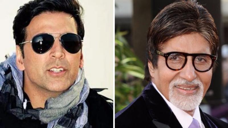 Akshay Kumar and Amitabh Bachchan.