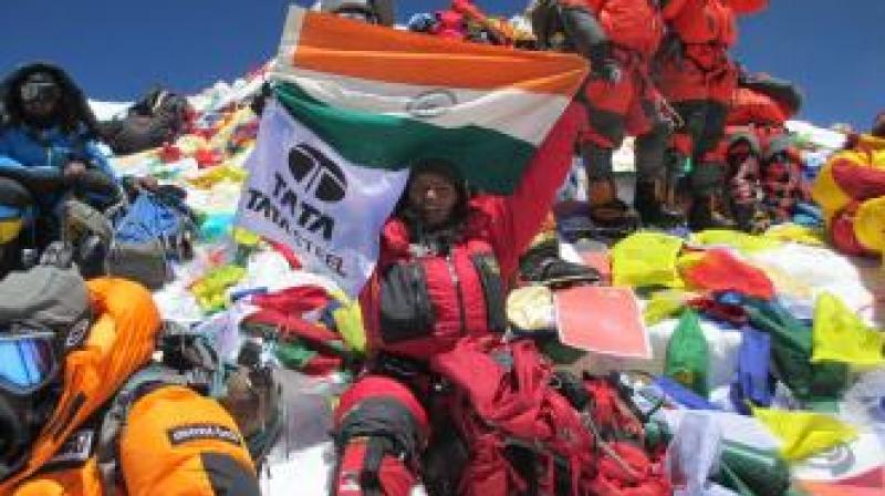 In 2014, she had already done six peaks: Everest in Asia, Kilimanjaro in Africa, Elbrus in Europe, Kosciuszko in Australia, Aconcagua in Argentina and Carstensz Pyramid (Puncak Jaya) in Indonesia. (Photo: Arunima Sinha | Website)