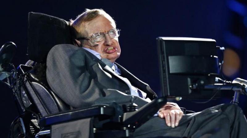 Stephen Hawking. (Photo: AP)